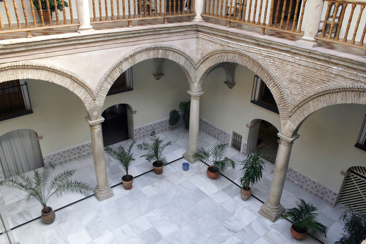 Patio interior del Palacio de Villardompardo