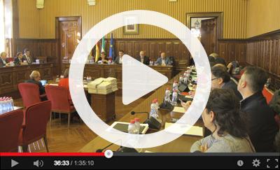 Ver vídeo del Pleno Ordinario del 31 de enero de 2017