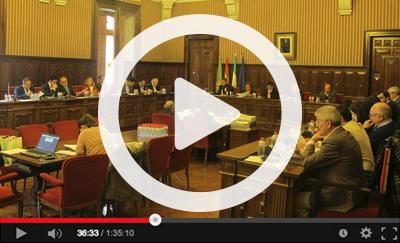 Ver vídeo del Pleno Ordinario del 5 de marzo de 2018