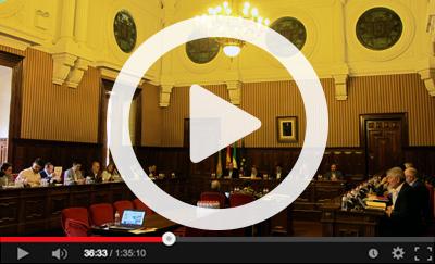 Ver vídeo del Pleno Ordinario del 30 de mayo de 2018