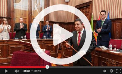 Ver vídeo de la Constitución de la Corporación Provincial del 11 de julio de 2019