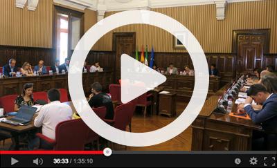 Ver vídeo del Pleno Extraordinario del 17 de julio de 2019