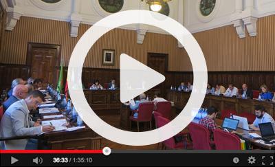 Ver vídeo del Pleno Ordinario del 1 de octubre de 2019