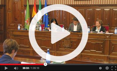 Ver vídeo del Pleno Ordinario del 30 de octubre de 2019